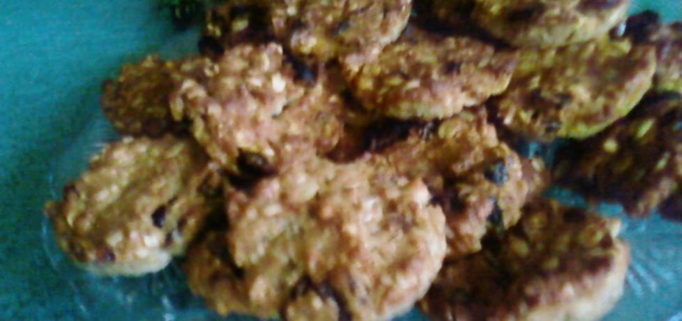 Ciastka z mąką krupczatką. (autor: benka)