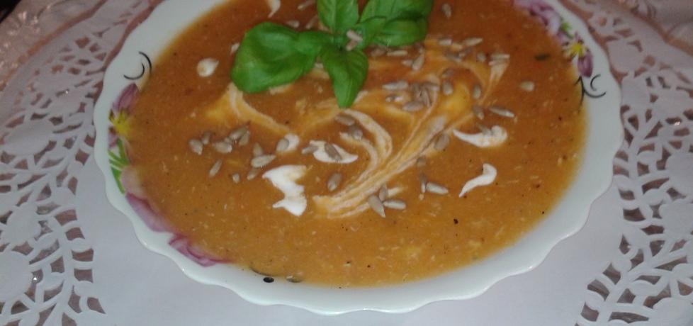 Zupa krem marchewkowy. (autor: bozena
