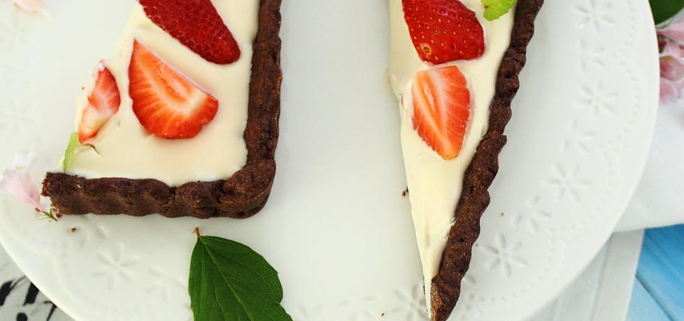 Tarta karmelowa z truskawkami (autor: ifa)