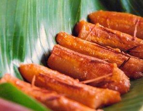 Pieczone banany  prosty przepis i składniki