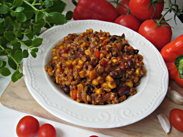 Przepis  chili con carne z suszonymi pomidorami przepis
