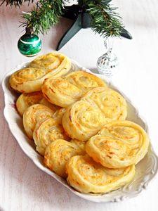Wigilijne ślimaczki serowe