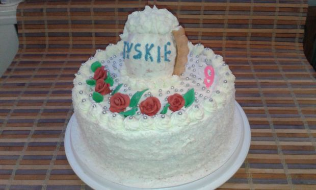 Przepis  tort urodzinowy dla męża przepis