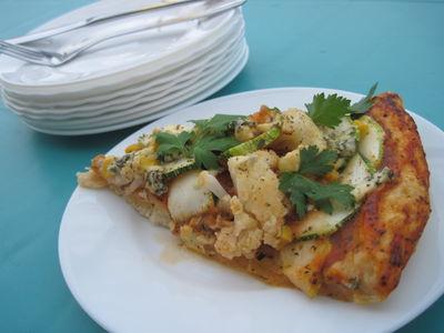 Pizza kalafiorowo