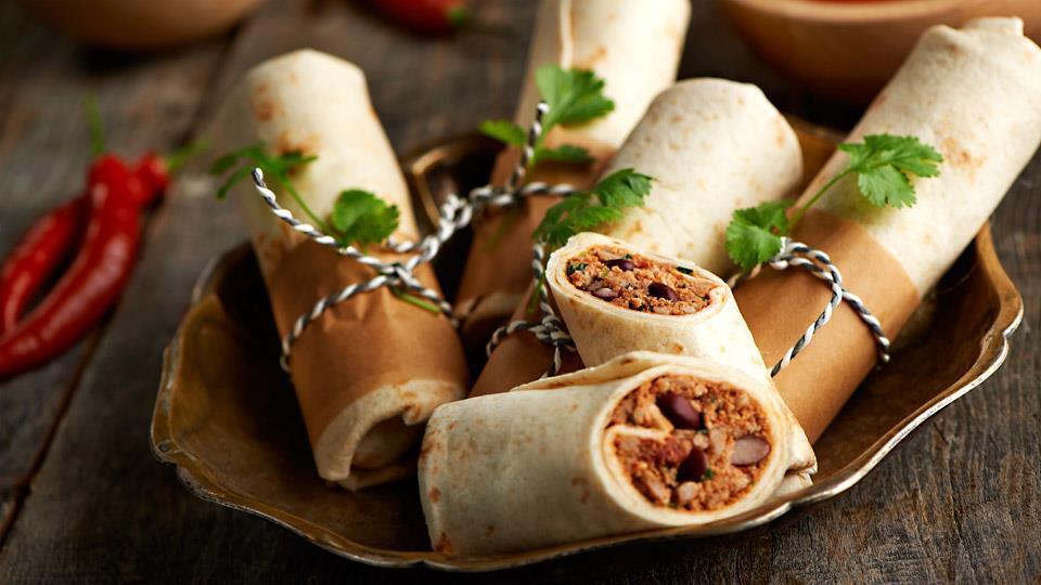 Przepis na szybki obiad  burrito