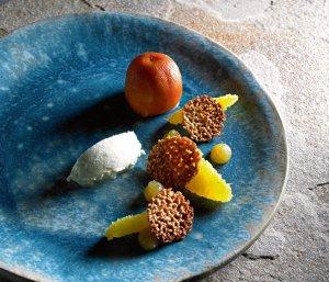Sernik, pomarańcza, kardamon  prosty przepis i składniki