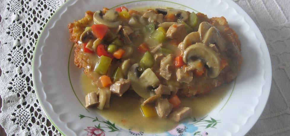 Gulasz wieprzowy z warzywami i pieczarkami (autor: ania321 ...