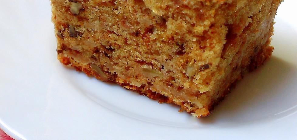 Ciasto jabłkowo  orzechowe (autor: futka)