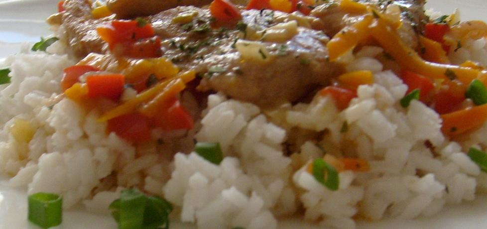 Marynowane polędwiczki z kurczaka z warzywami ...