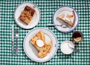 Naleśniki z serem i śmietaną  prosty przepis i składniki