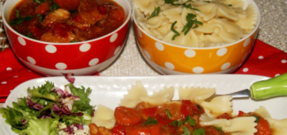 Gulasz z indyka z warzywami (autor: babciagramolka ...