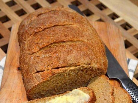 Przepis  norweski chleb z solą morską przepis
