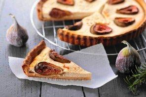 Tarta z figami i kozim serem  prosty przepis i składniki