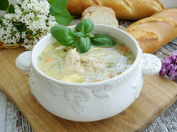 Przepis  kremowa zupa brokułowa przepis