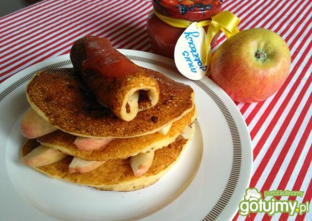 Przepis  racuchy serowe z jabłkami przepis
