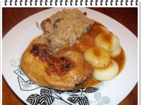Przepis  pikantne keczupowe udka z kurczaka eli przepis