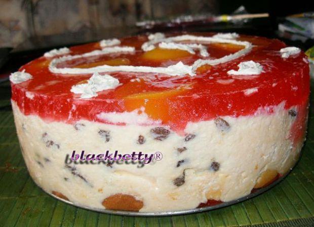 Przepis  tort  sernik na zimno przepis