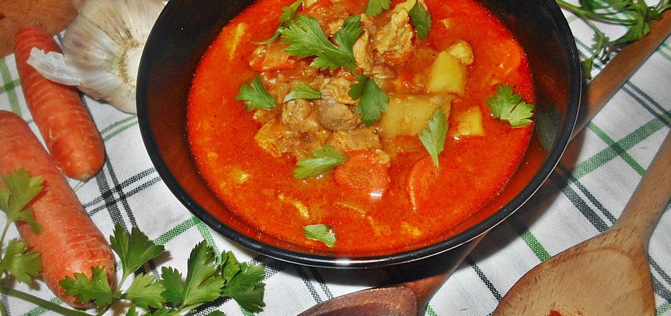 Zupa gulaszowa z szynką (autor: beatris)