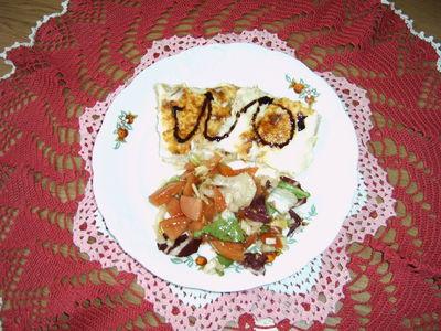 Naleśniki z serem i szynką zapiekane w sosie beszamelowym ...