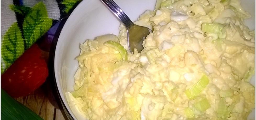 Pasta z sera, jajek i pora. idealna na kanapki. (autor: magdalenaic ...