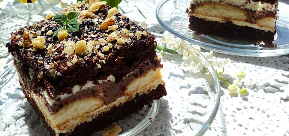 Ciasto czekoladowe z alkoholem a' la kukułka (autor: anna133 ...