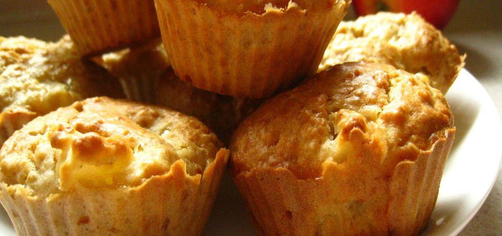 Muffinki owsiane z jabłkami (autor: szybkiegotowanie ...