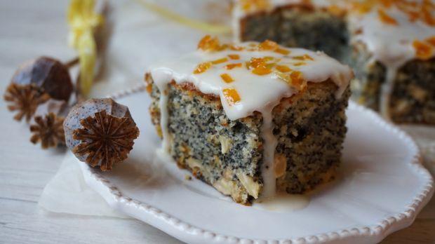 Przepis  ciasto makowo-pomarańczowe przepis