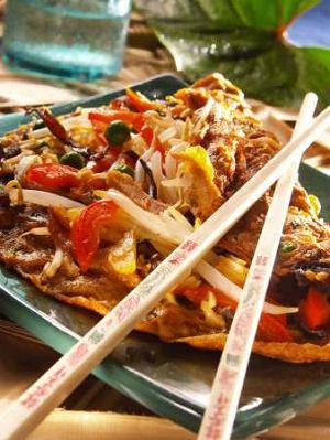 Omlet z grzybami mun  prosty przepis i składniki