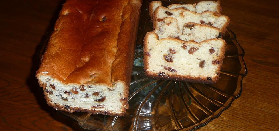 Drożdżowe ciasto z rodzynkami (autor: justyna92)