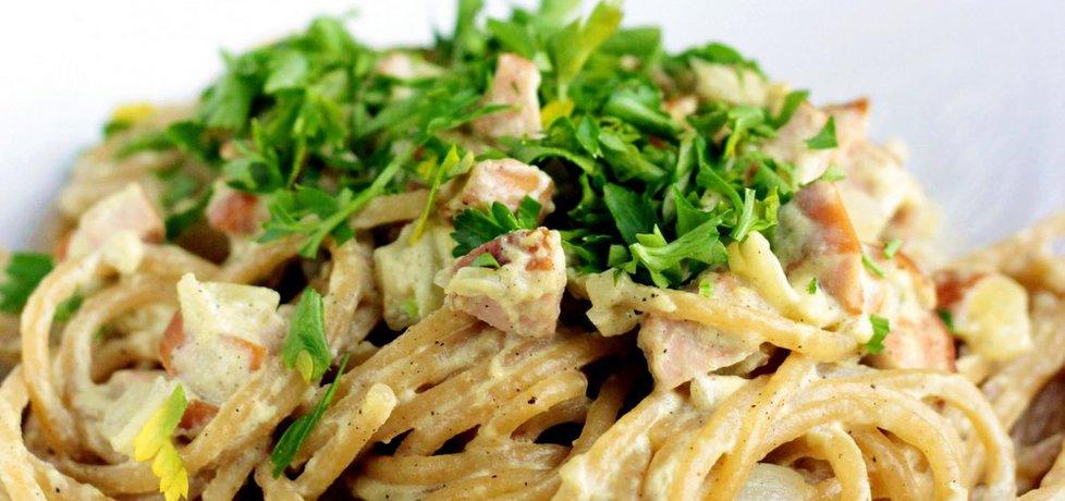 Spaghetti ala carbonara (autor: ostra-na