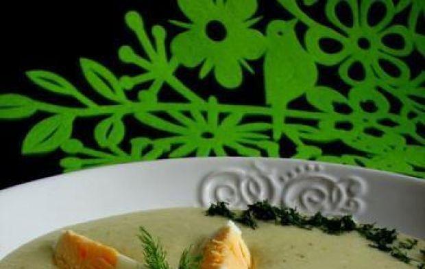 Przepis  krem z łodygi brokuła przepis