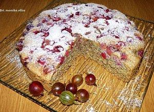 Ciasto z agrestem  prosty przepis i składniki