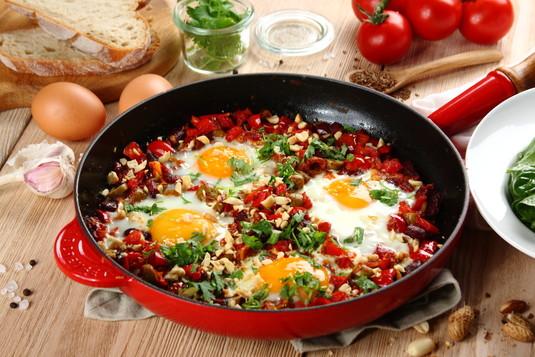 Jajka sadzone po meksykańsku