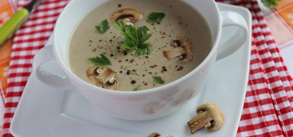 Aksamitna zupa pieczarkowa (autor: anemon)