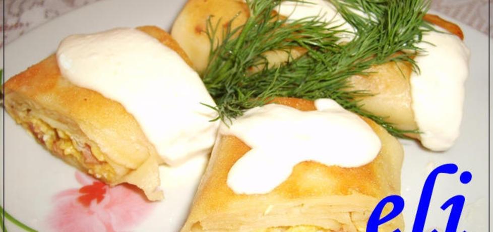 Naleśniki z jajecznym farszem eli (autor: eli555)