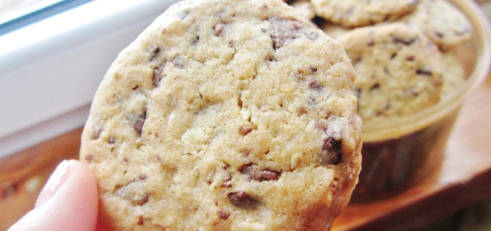 Kruche ciasteczka z czekoladą (autor: eliza135)