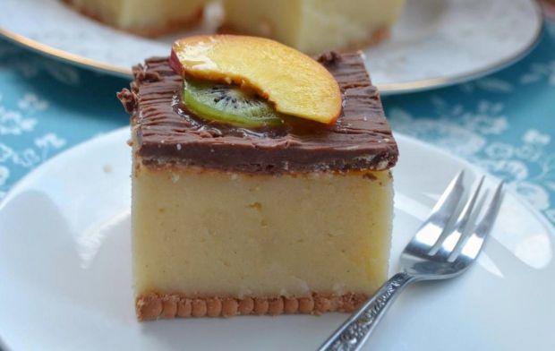 Przepis  kaszak, ciasto z kaszy manny przepis