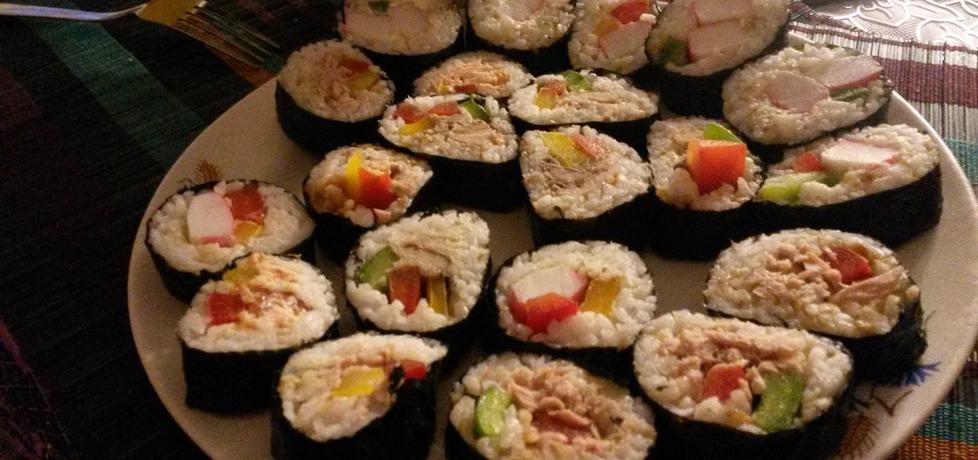 Sushi w domowy sposób (autor: justyna223)