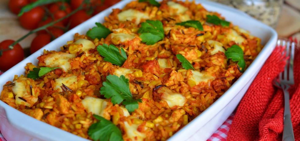 Mocno pomidorowa zapiekanka z kurczakiem (autor: linka2107 ...