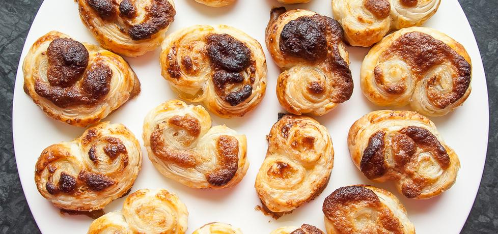 Mini palmiery z ciasta francuskiego z chałwą (autor: sandra9 ...