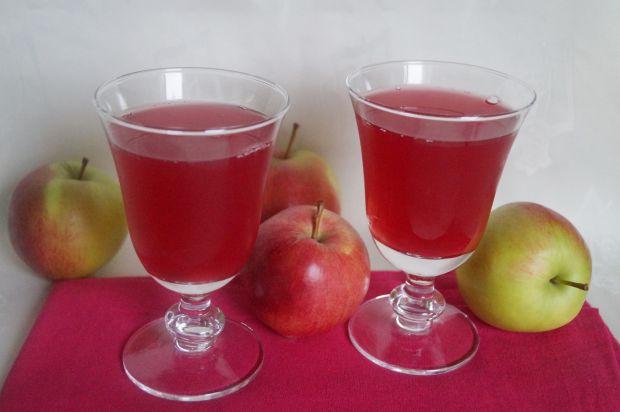 Przepis  kompot jabłkowy z żurawiną i aronią przepis