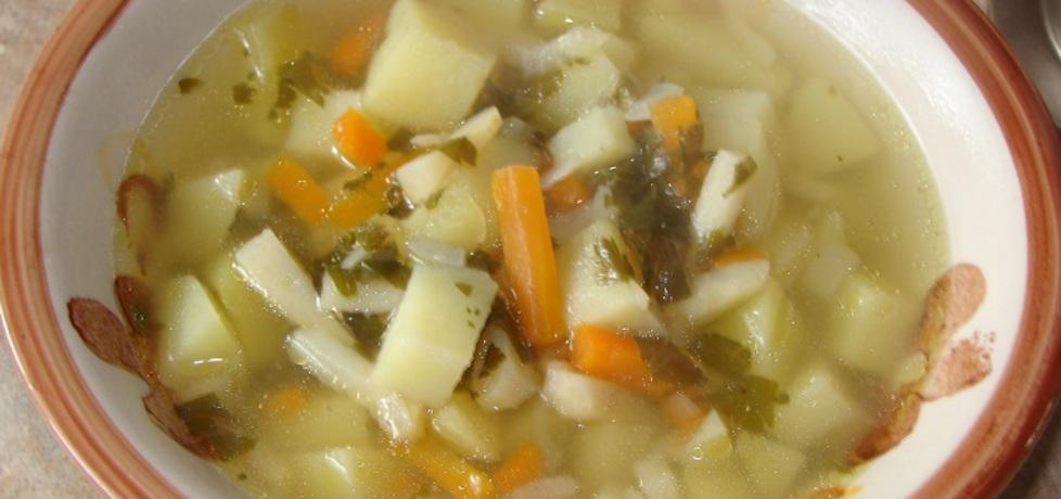 Zupa ziemniaczana na żeberkach (autor: motorek)
