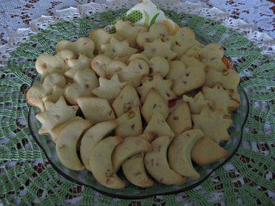 Pomarańczowe kruche ciasteczka