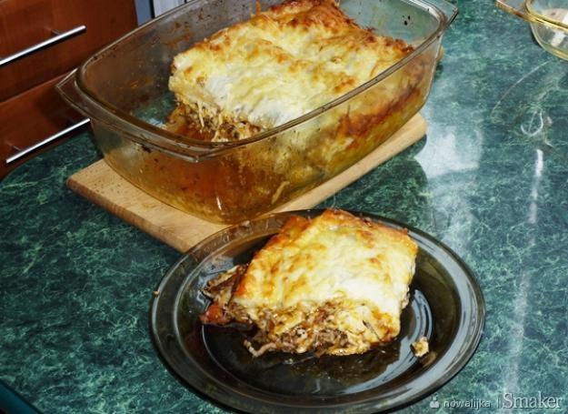 Lasagne mięsno-pomidorowa