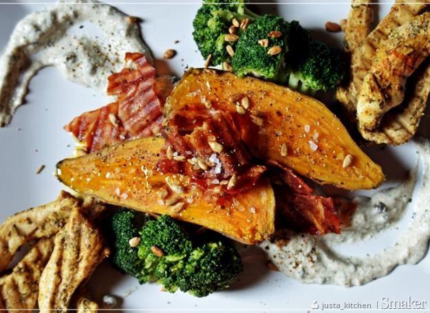 Batatowy fit z kurczakiem