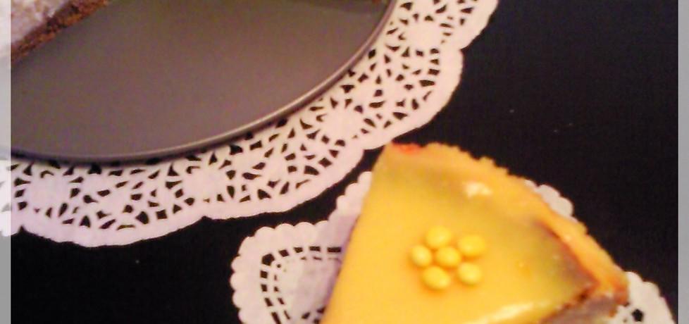 Słoneczny sernik z lemon curd (autor: iwusia)