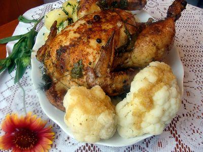 Kurczak mocno ziołowy