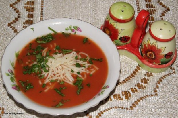 Przepis  pomidorówka z zagęszczonego soku : przepis