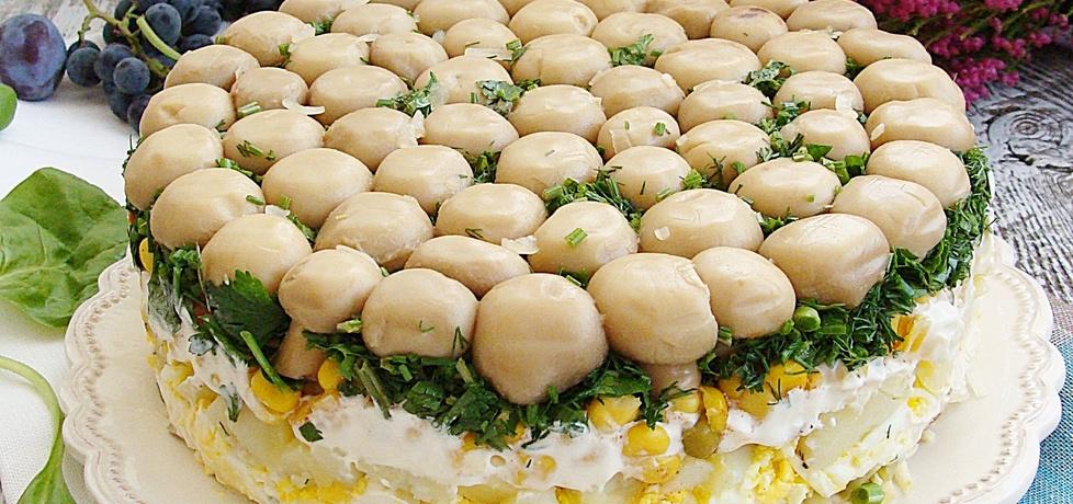 Sałatka grzybowa polana (autor: 2milutka)