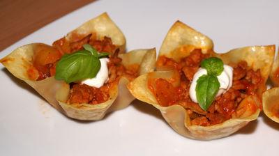 Muffinkowe mini lasagne